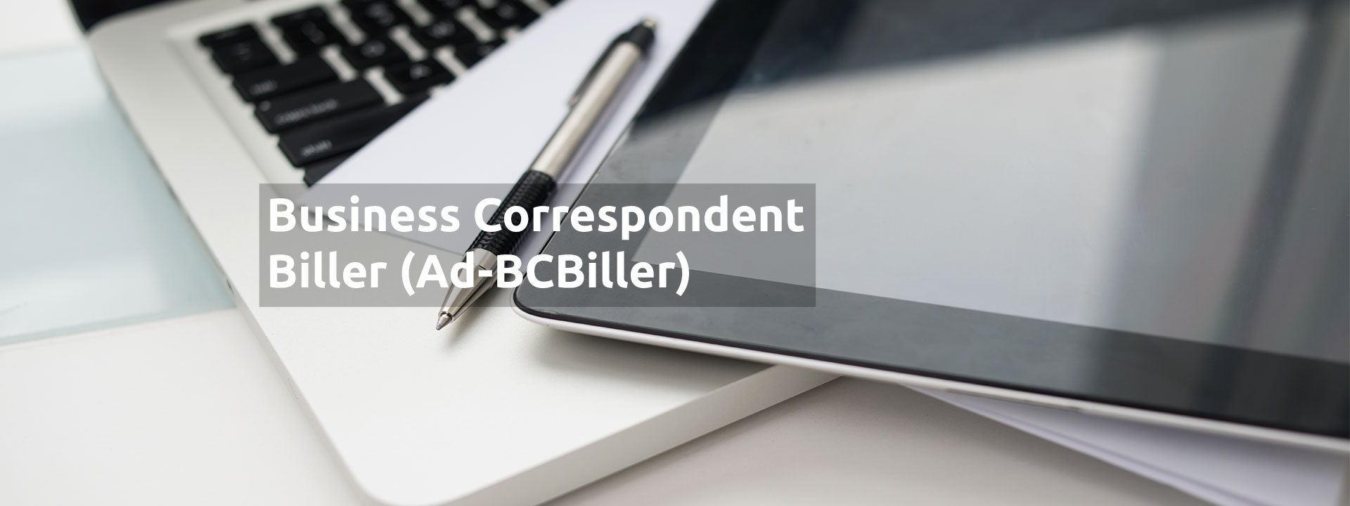 Ad-Business Correspondent Biller