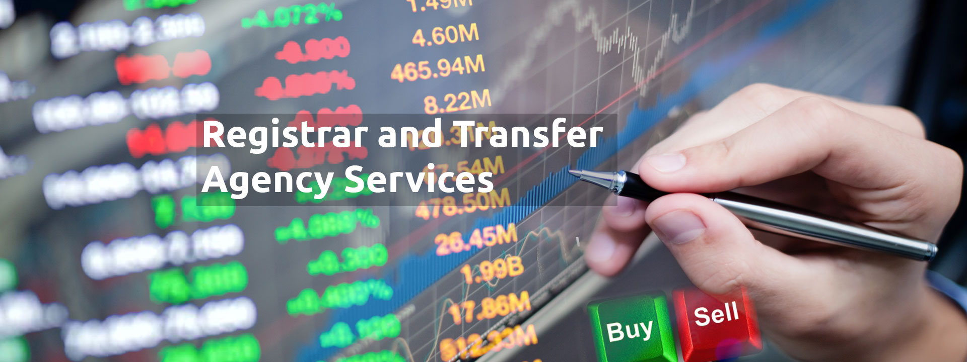 Registar & Transfer Agency Services